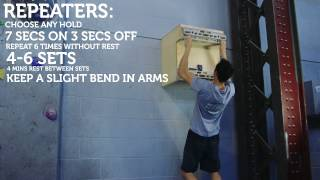 Strength training: fingerboard by Depot Climbing Centres