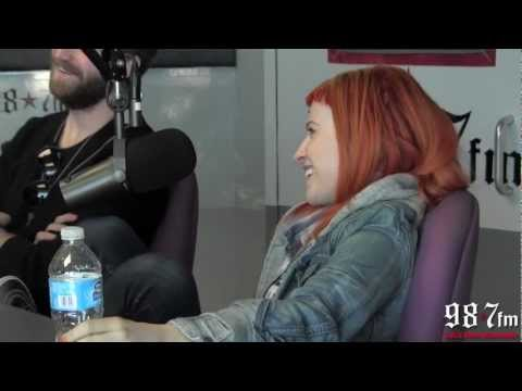 Paramore Talks Song Writing Process with Kennedy
