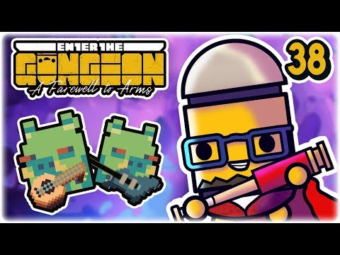 Reto Starts a Band | Part 38 | Let's Play: Enter the Gungeon: Farewell to Arms | PC Gameplay