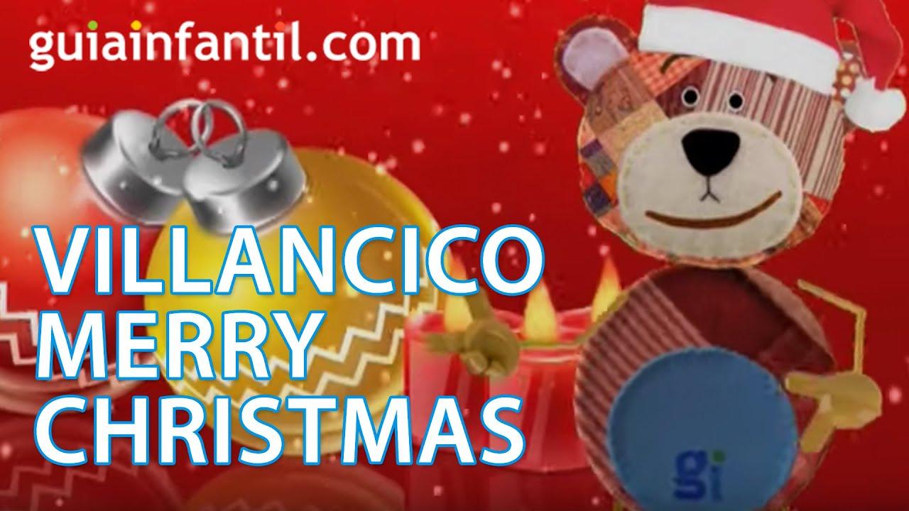 Feliz Navidad, Merry Christmas, villancico navideño