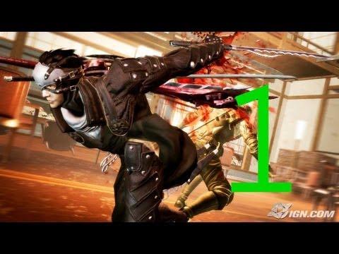 Gameplay de Ninja Blade