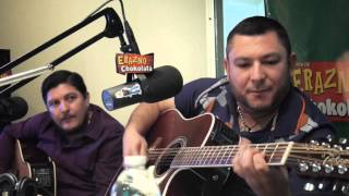 Jesus Ojeda Cantando en El Show de Erazno y La Chokolata