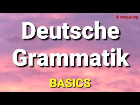 A1, A2, B1, B2, C1, Deutsche Grammatik, Überblick, German grammar, basics, Beginners, für Anfänger