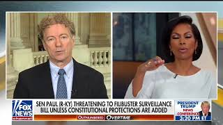 Rand Paul Will Filibuster Against Americans Getting Spied On