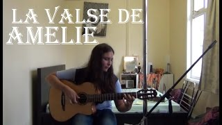 Yann Tiersen - La valse de Amelie (guitar cover) with FREE TAB!