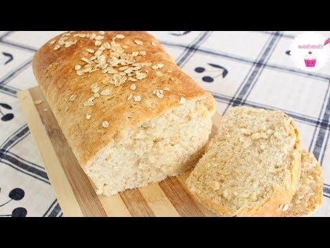 PAN DE AVENA | Pan de caja o pan de molde 💖 sweetvanetv