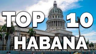 LA HABANA ★ Cuba Turismo Cultural 2019 ★ Top Lugares Turísticos Que Ver Y Visitar En La Habana Cu