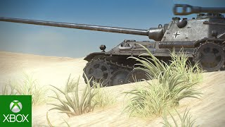 Upútavka na World of Tanks pre Xbox One