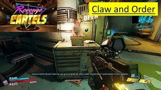Borderlands 3 REVENGE OF THE CARTELS - Claw and Order - Maurice Rumors