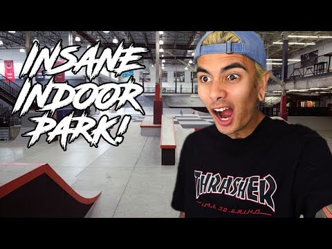 VANS INDOOR PARK IS INSANE!!!