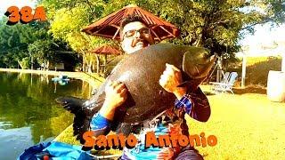 Pesqueiro Santo Antonio - Fishingtur na TV 384