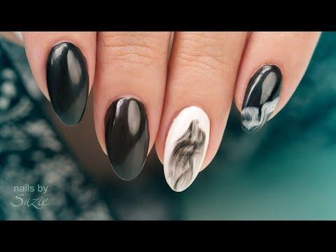 EZ Smoke Effect Gel Nail Art