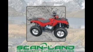 Scan-Land ATV Diagnostic Tool -- Available also for PWC, Boats, Snowmobile, and Motorcycle!