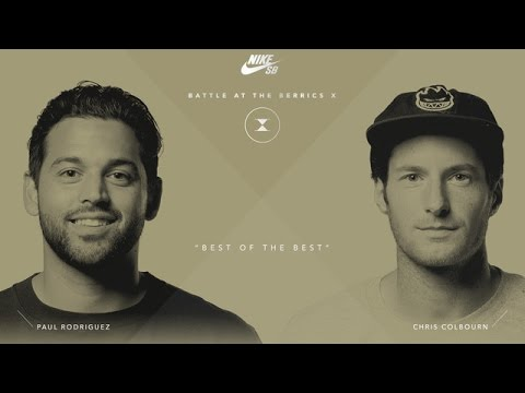 BATB X | Paul Rodriguez vs. Chris Colbourn - Round 1