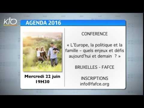 Agenda du 17 juin 2016