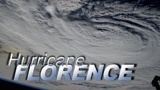 Views of Hurricane Florence at Landfall