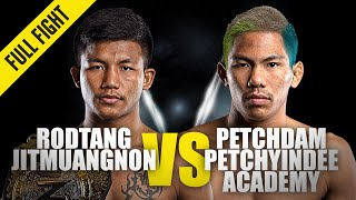 Rodtang vs. Petchdam III | ONE Championship Full Fight