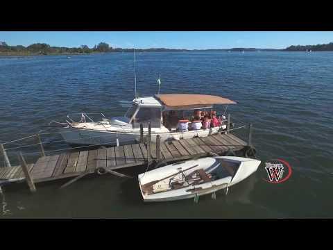 Drone Sobrevoando a Represa de Guarapiranga