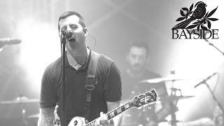 Bayside - Big Cheese (Live Music Video)