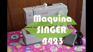 Unboxing maquina de coser singer 4423