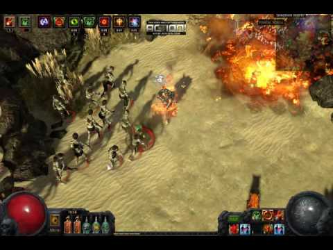 Path of Exile ranged attack totem GORGE