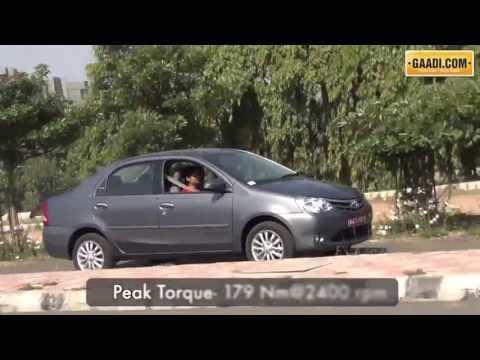 Toyota Etios VD Review