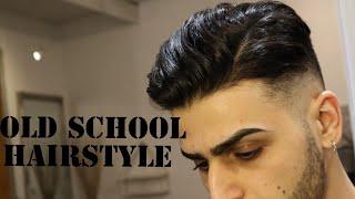 Vintage Mens Haircut & Style   Old School Men Hairstyle