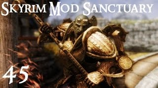 Skyrim Mod Sanctuary 45 : Dwarven Dwemer Power Armor and Exoskeleton