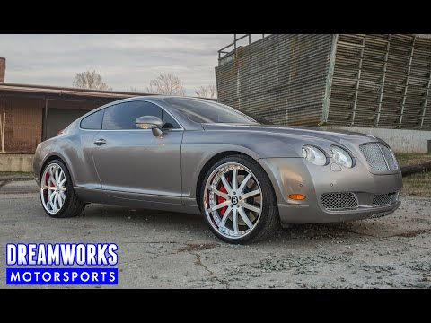 "Bentley Continental GT | 22"" Vellano VSO Wheels"
