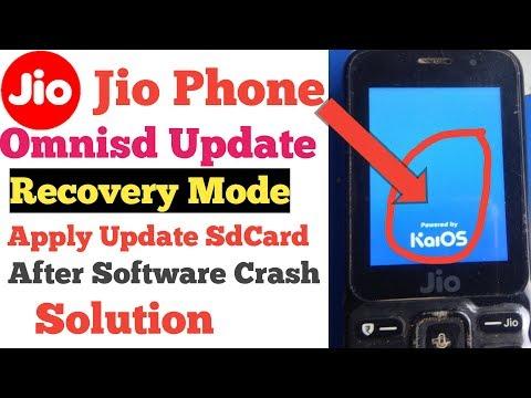 Jio Phone Model-F81E Flashing Software Recovery Problem 100