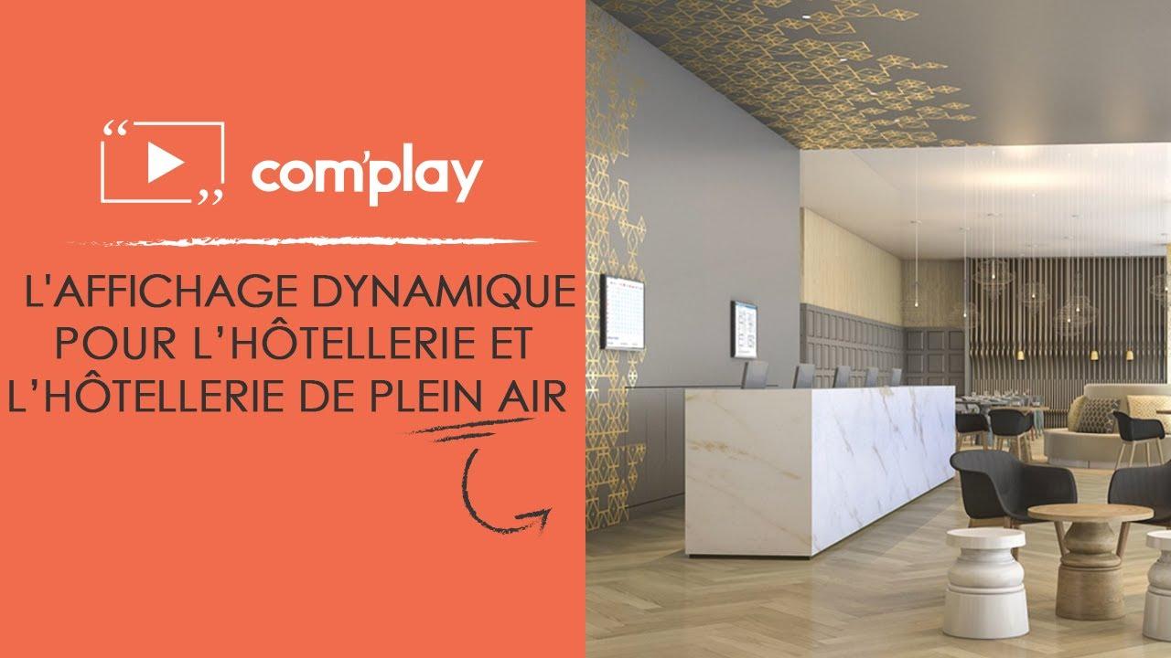 Image YouTube L'affichage dynamique pour le secteur de l'Hôtellerie et HPA