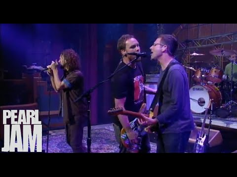 Why Go - Late Show With David Letterman - Pearl Jam