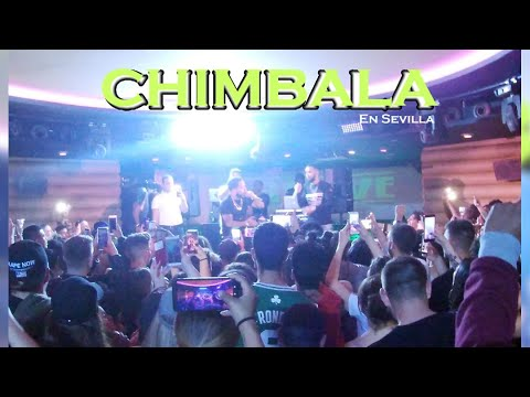 Chimbala en Discoteca Abril Sevilla