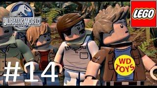 Jurassic World Lego Game Level 14: Eric Kirby Gameplay Walkthrough By WD Toys