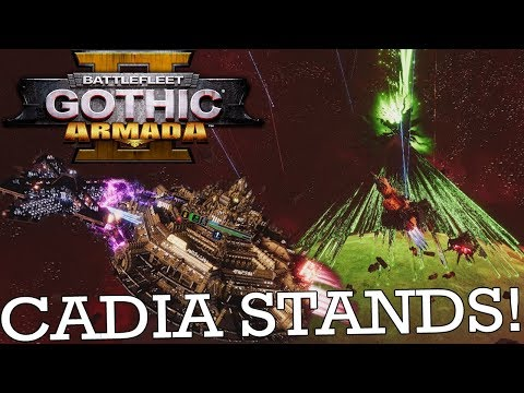 CADIA BECOMES A DEATH STAR - Battlefleet Gothic: Armada 2 Prologue
