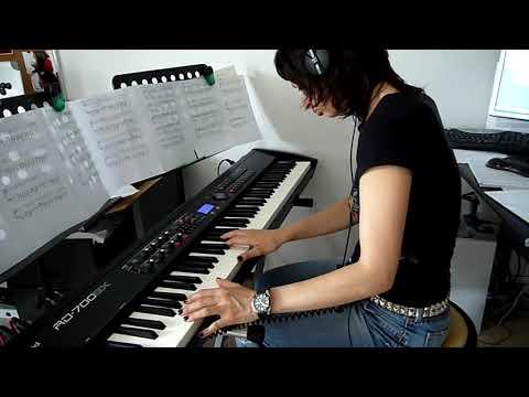 Radiohead - Climbing Up The Walls - piano cover [HD]