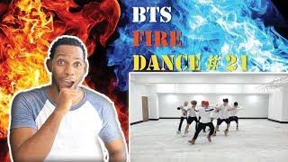 [CHOREOGRAPHY] BTS (방탄소년단) '불타오르네 (FIRE)' Dance Practice L Reaction