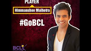 BCL International - Actor Himmanshoo A. Malhotra