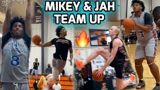 Mikey Williams, Jah Jackson, Blue Cain, & Other Top Athletes Get Busy In DUNK CONTEST & SHOWCASE 🍿
