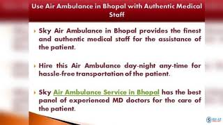 Air Ambulance from Bhubaneswar with High Medical Support
