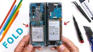 Samsung Galaxy Fold Teardown - How does it even work?
