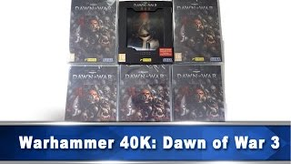 Warhammer 40K: Dawn of War 3 Limited Edition & Διαγωνισμός