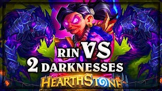 Rin The First Disciple VS 2 The Darkness 🍀🎲 ~ Kobolds and Catacombs ~ Hearthstone Warlock VS Mage