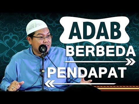 ADAB BERBEDA PENDAPAT