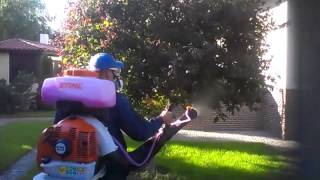 Опрыскиватель STIHL SR 450 - видео №2