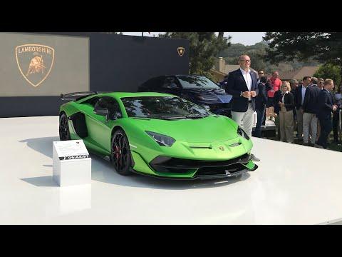 Lamborghini Aventador SVJ World unveil and walk-around! Quail 2018