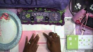 Bridal Shower Card and Pillow Box with Tie the Knot Cricut Cart Pt 1