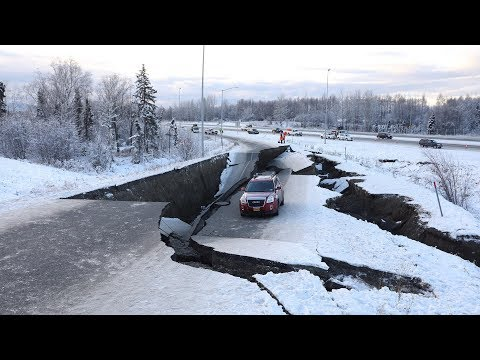 Powerful M7.0 earthquake shakes Alaska