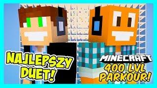 LEGENDARNY DUET POWRACA!   Minecraft 400 Levels #2   VERTEZ & LJAY