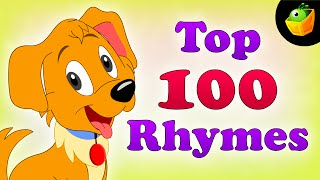 Top 100 Hit Songs – English Nursery Rhymes – Collection Of Animated Rhymes For Kids